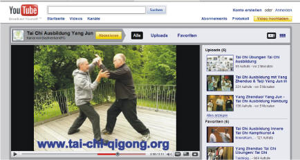 AK Youtube Video Netzwerk Qigong Taiji Quan Nehringen